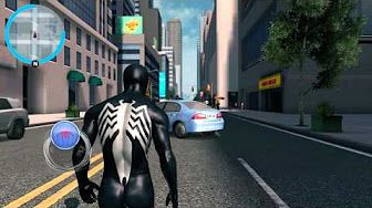 The Amazing Spider-Man 2 Video Game - TASM2 suit free roam - YouTube