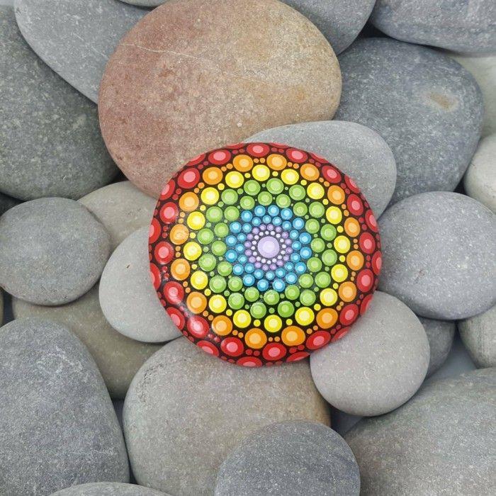 manala muster steine bemalen bunte steine | Küche | Pinterest | Kuchen