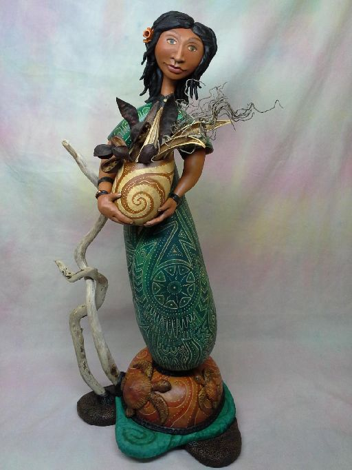 Jennifer Zingg Studio | Gourds | Gourd Art | SCULPTURE