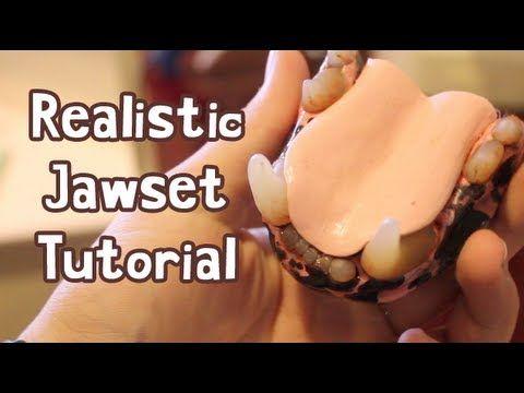 ▶ Realistic Fursuit Jawset Tutorial - YouTube