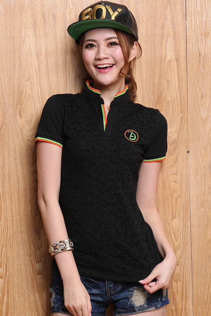 High Quality Solid Color Women Polo Shirt S-XXXL Cotton Slim Polo Femme Shirt Plus Size Brand Polo Raph Women Velvet