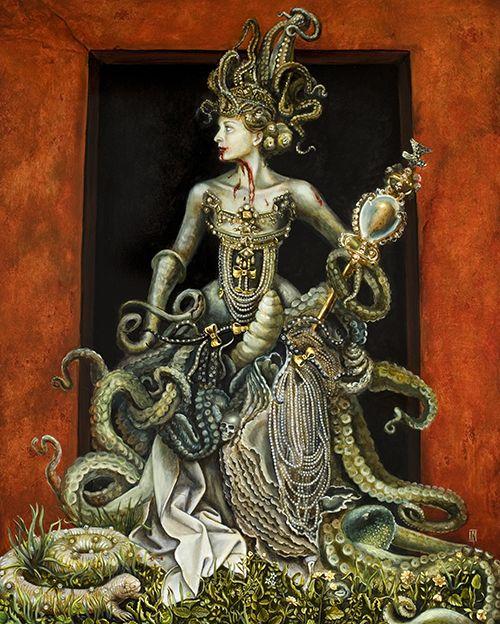 http://fhtagnnn.com/post/135351743726/queen-bitch-by-carrie-ann-baade