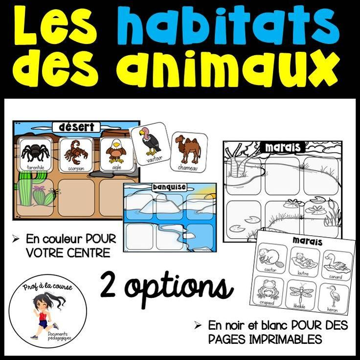 French Animal Habitats Habitats Des Animaux In 2020 Animal Habitats Habitats Animals