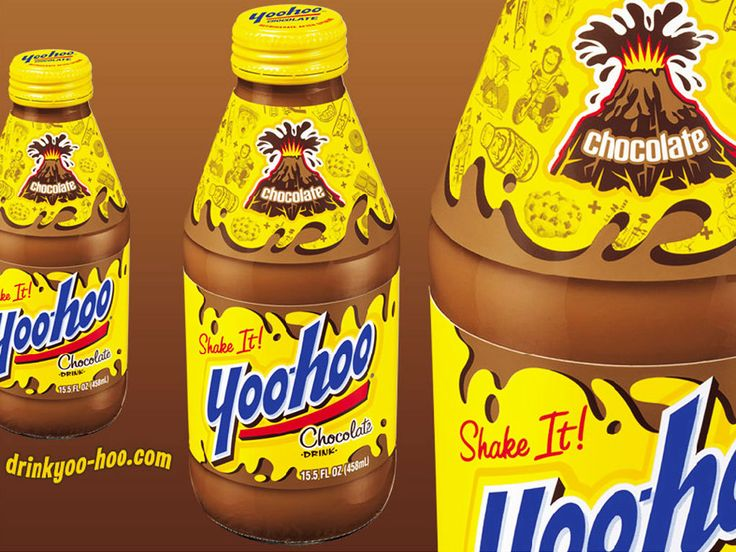 Yoo-hoo reminds me to be a kid every once and a while.