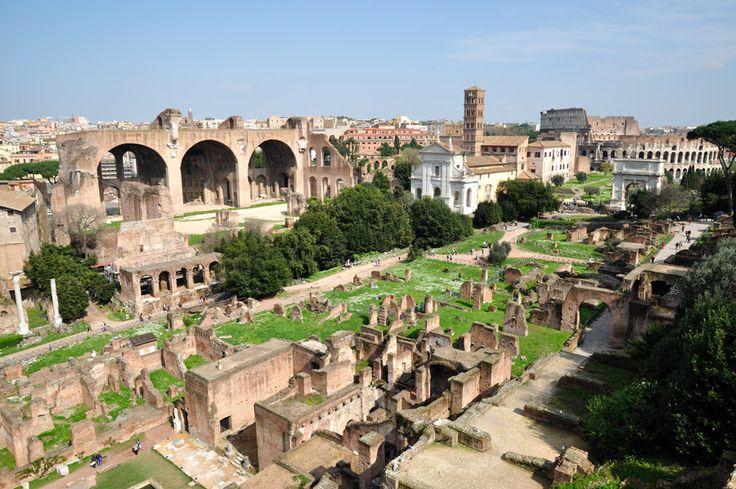 Cómo visitar el Foro Romano y el Monte Palantino - http://www.absolutroma.com/5421-2/
