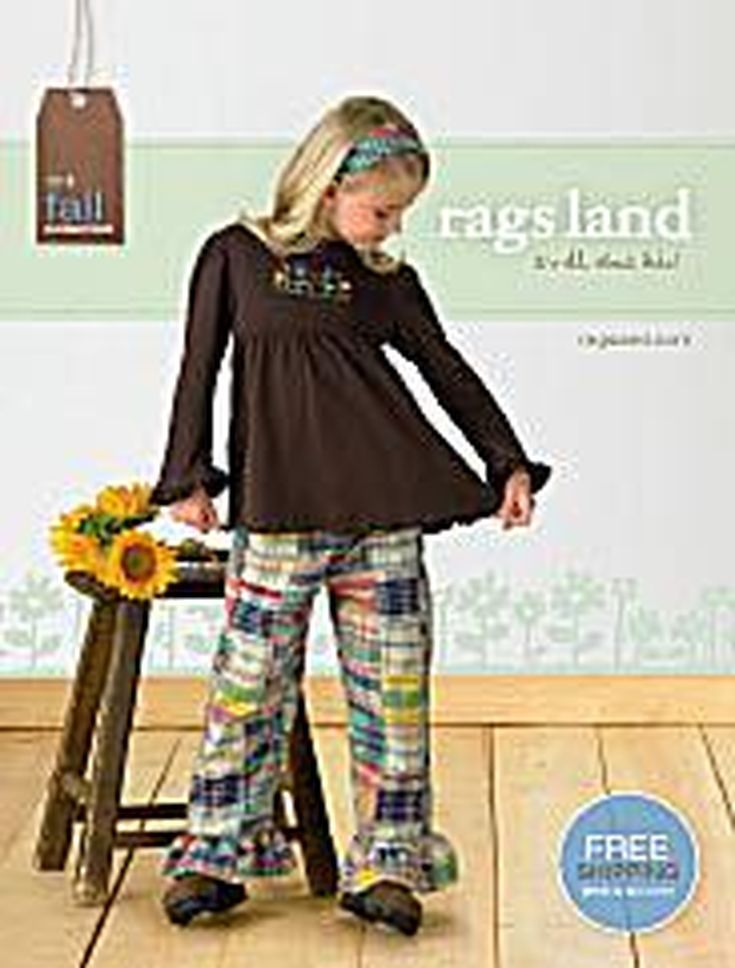 11 Places to Get Free Kids' Clothing Catalogs in the Mail: Rags Land Kids Clothing Catalog