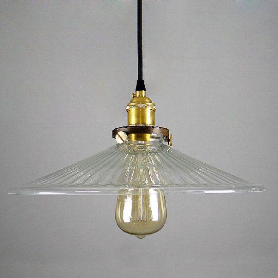 glas anh nger lampe lampenschirm or komplettset industriellen stil h ngende lampe edison. Black Bedroom Furniture Sets. Home Design Ideas