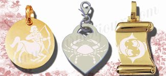 pendentif zodiaque a personnaliser  avec des pendentifs argent ou or plaquer et la possibilité de graver le signes de votre choix, vous pouvez graver le signe du zodiaque bélier, le signe du zodiaque taureau, le signe du zodiaque du cancer, le signe du zodiaque du gémeaux, le signe du zodiaquedu lion, le signe du zodiaque la vierge, le signe du zodiaque de la balance, le signe du zodiaque du scorpion, le signe du zodiaque du capricone, le signe du zodiaque du poisson gravure photo…