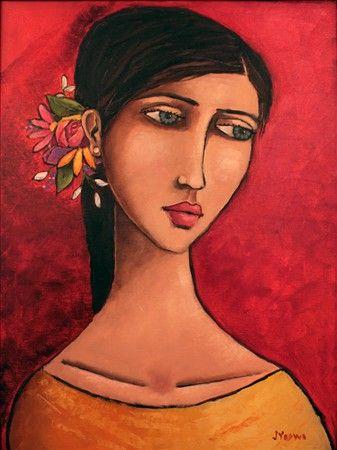 Girl in Yellow by Jennifer Yoswa