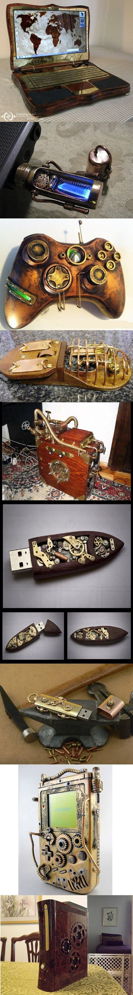 Steampunk mods.