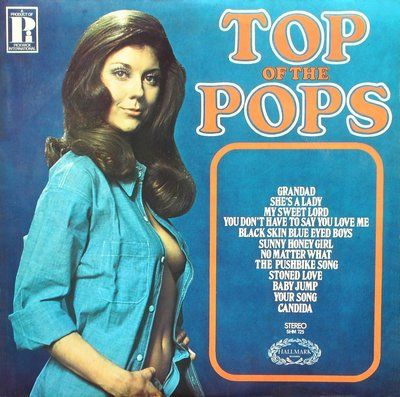 Top of the Pops (1970?) British top 40 show, the ONLY way we got new music in the 80's