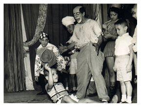 ::: InfanTv ::: - Circo Bombril - 1951 os palhaços Fred e Carequinha