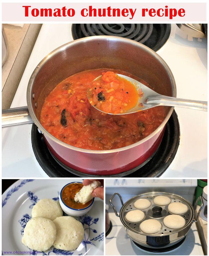 Idli Recipe With Tomato Chutney Babies Toddlers Kids Favourite Combo
