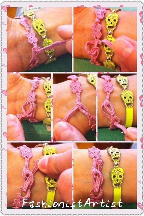 TUTORIAL: How to Tie the Cruciani's bracelet