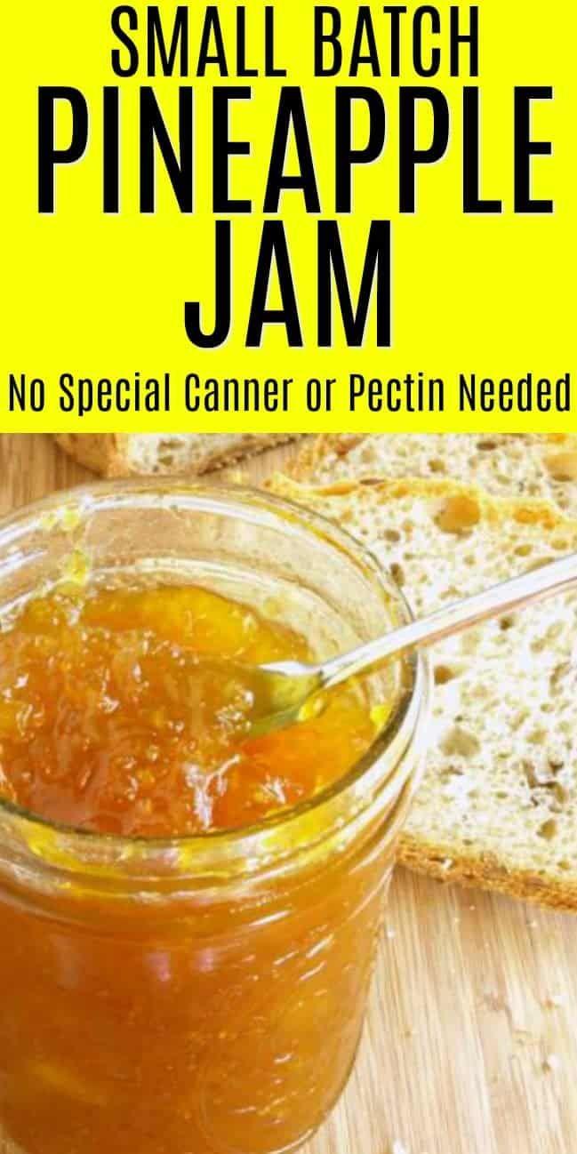Small Batch Pineapple Jam