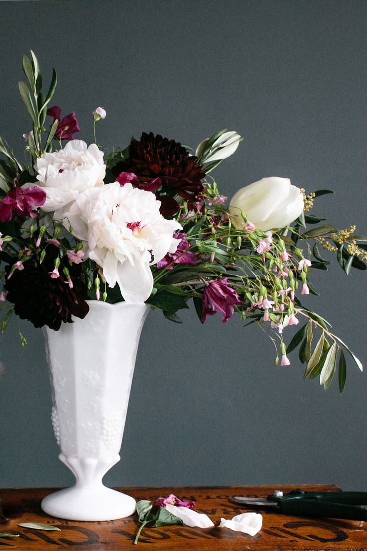 4 Steps to Creating a Professional Flower Arrangement
