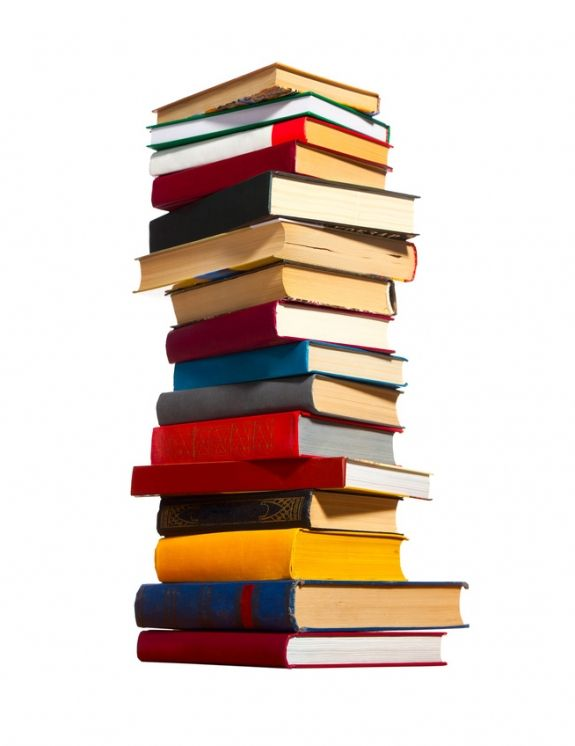 How To Get Rid Of Books  //  http://cravesimple.com