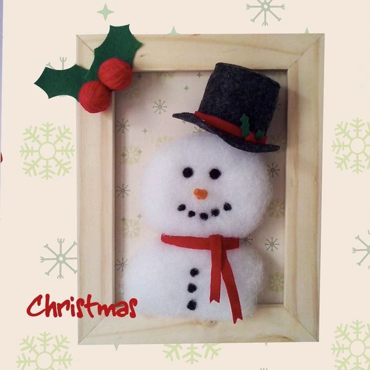 Christmas Time - Felted