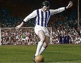 The King in colour!! Jeff Astle WBA & England.