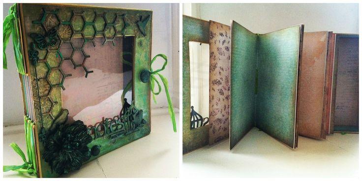 Notes & Thoughts Journal door Rianne - zaterdag 24 januari  - 10:00 tot 16:00 / 17:00 uur  Jaarboek maar dan anders…. Rianne staat bekend om haar jaarboeken, dit jaar heeft ze het een klein beetje anders gedaan.  Het Notes & Thoughts album is een album met maar liefst 48 pagina's die je zelf kan gaan bewerken en gebruiken als Art Journal, Planner of foto album. De keus is geheel aan jou. Tijdens de workshop ga je voornamelijk aan de slag met de cover van dit album. Deze bewerk je met ...