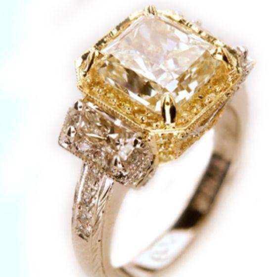 Diamante amarillo
