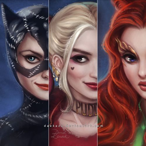 Big Screen Gotham City Sirens - Daniel Kordek