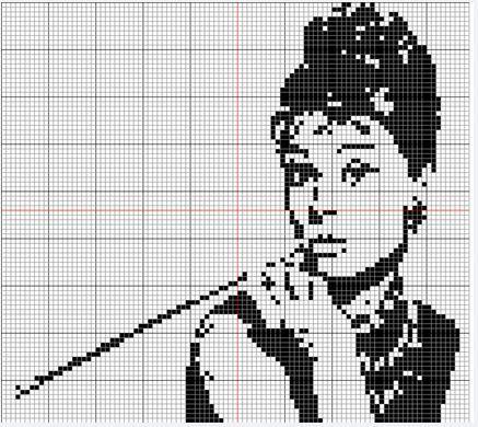 Etamin Audrey Hepburn
