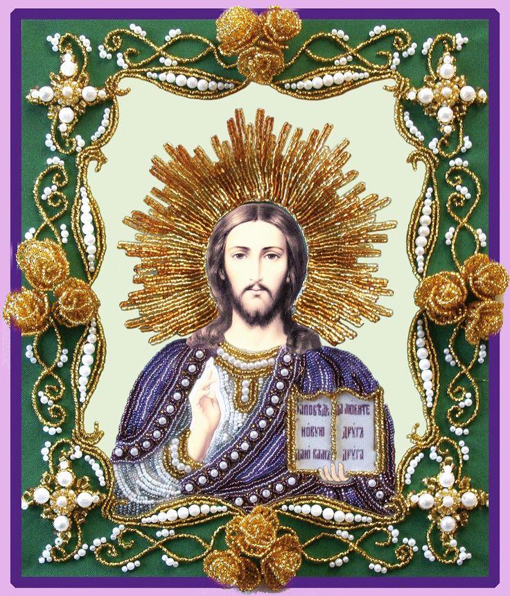 БП-146 ХРИСТОС ВСЕДЕРЖИТЕЛЬ - Изящное Рукоделие
