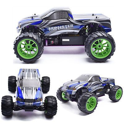 ﹩175.00. HSP Rc Truck 1:10 2.4Ghz Nitro Power 4wd Off Road Monster Truck 94108 High Speed    4WD/2WD - 4WD, Fuel Type - Nitro  Glow Fuel, Note - Color of the body will be sent at random., Required Assembly - Ready to Go/RTR/RTF (All included), Scale - 1:10, Type - Monster Truck,