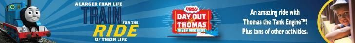 Day Out With Thomas - Perris, CA Orange Empire Railway Museum Event Tickets