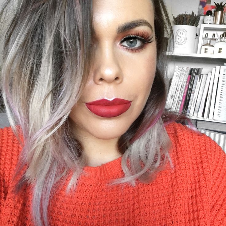 Laura Louise Makeup + Beauty Red lipstick matte, Beauty