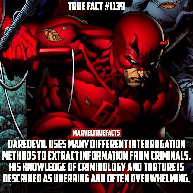 Basically, don't piss off Daredevil.