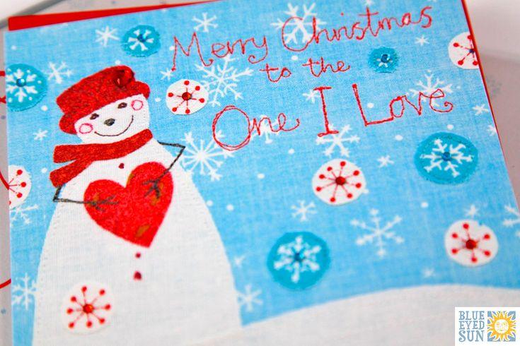 Vintage Christmas Card by Blue Eyed Sun