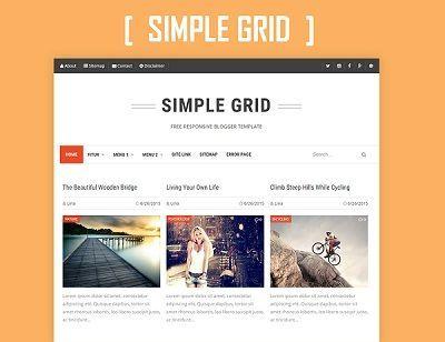 _CTPG_: Simple Grid - Template cho Blogspot cực đẹp - Resp...