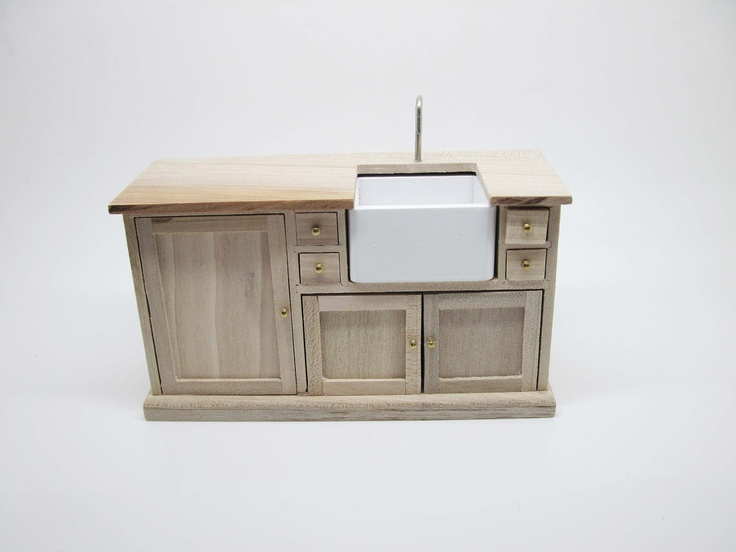 Mini Farmhouse Sink : ... project Pinterest Miniature, Furniture and Farmhouse sinks
