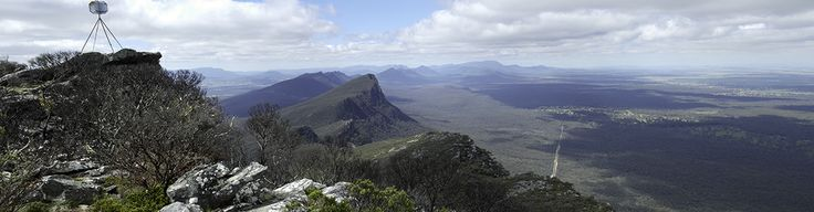 View north from Mt Abrupt.