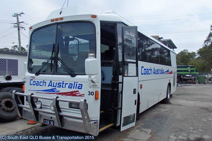 The newest addition to the Langley's Coaches fleet is this Austral Minimaster - currently seen here in her Coach Australia colours