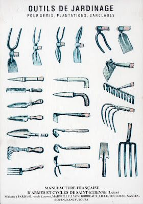 French Garden Tools