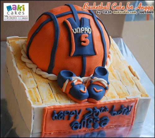 Basketball Cake for Angga Cake