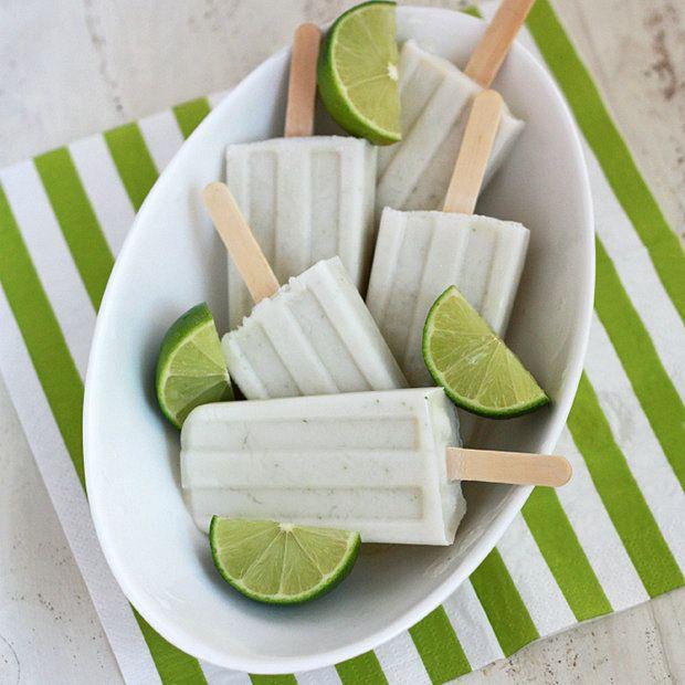 Limetkovo - kokosové nanuky Foto: