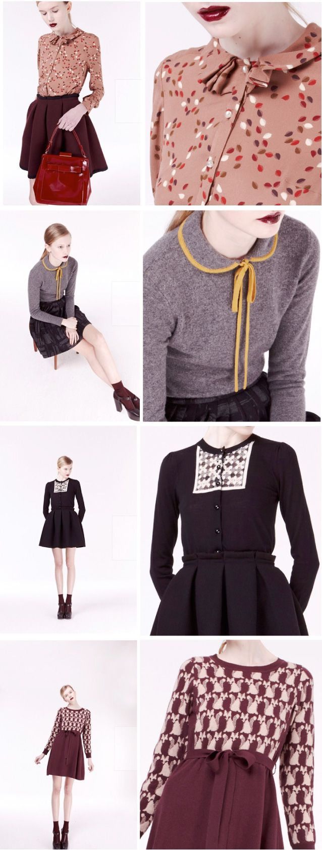 Orla Kiely Autumn/Winter 2012-13 oh, the collars