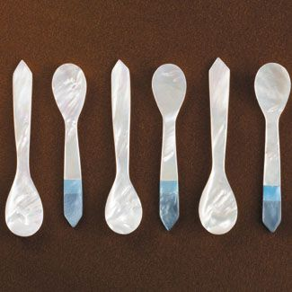 Mother-of-Pearl Caviar Spoons