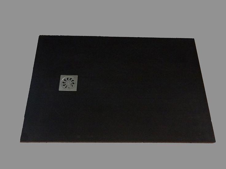 Pour une Salle de Bain Moderne choisissez le Receveur De Douche Design 120x80 cm extra plat noir.