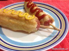 Banderillas de salchicha y queso #RecetasGratis #RecetasdeCocina #RecetasFáciles #RecetasparaNiños #ComidaDivertidaparaNiños #CocinaCreativa #Salchichas