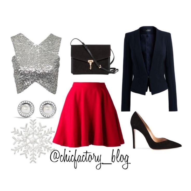 Outfit para celebrar fin de año y recibir el 2015 muy chic #newyearoutfit #outfit