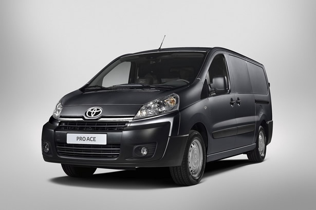 Europe: Toyota ProAce Van to launch in Q1 2013