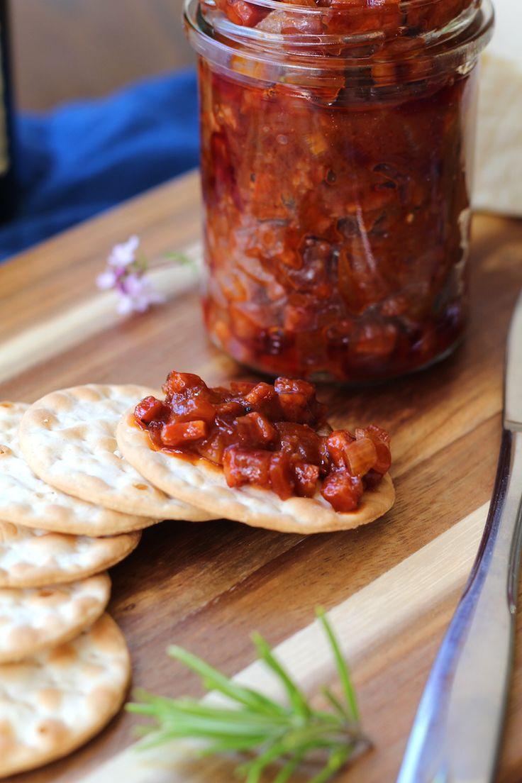 Chorizo jam. The best savoury jam recipe I've tried www.alifeofgeekery.co.uk