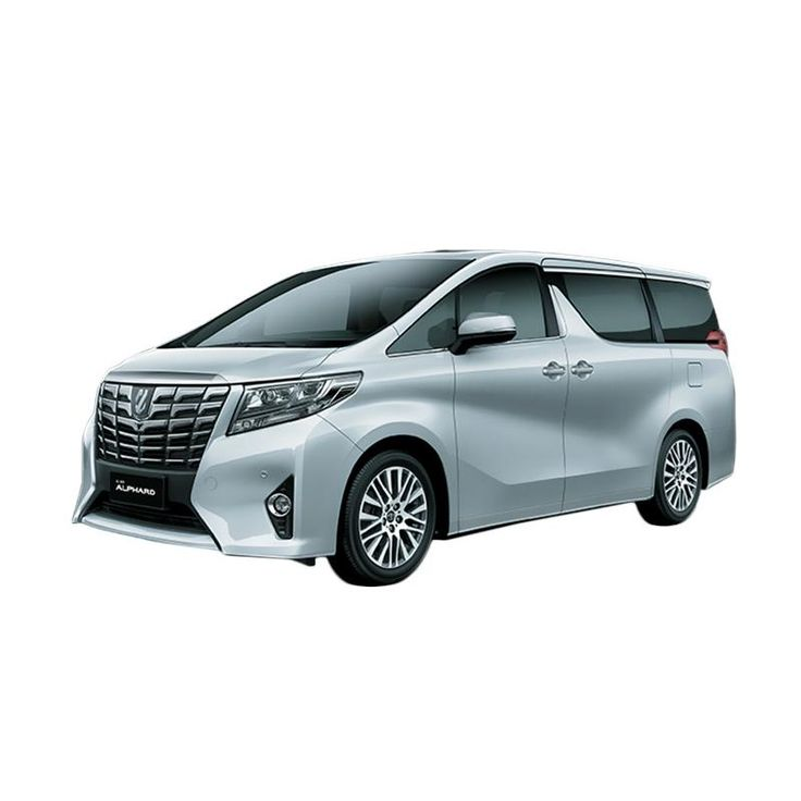 Jual Toyota Alphard 2.5 X A-T Mobil - Silver Metallic