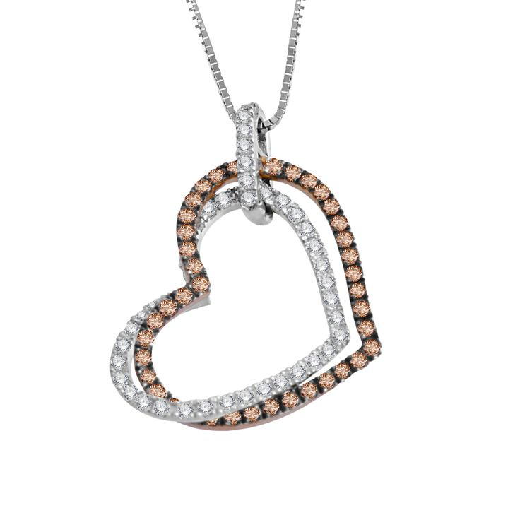 Feel the Love you wish to share on your first date with Diamond Delight. #Pendants #DiamondDelight #Diamonds #HeartPendant #DiamondPendants #FashionPendants