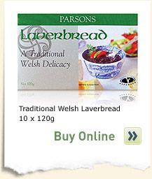 Laverbread Parsons Pickles   » Laverbread Recipes